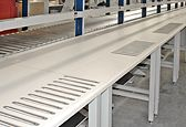 Lista's conveyor workstation and material handling solutions provide cost-effective, high-efficiency workflow management throughout your entire production stream.