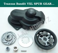 Traxxas Bandit VXL SPUR GEAR / SLIPPER CLUTCH 76 Tooth 48 Pitch. Traxxas 1/10 Bandit VXL (Model 2407 & 2407L)Spur Gear & Slipper Clutch AssemblyMSRP: $26.99Local Hobby Shop: $23.96Dollar Hobbyz: Up to 95% Off MSRP! More Truck For Your Buck Since 2002!This Product Includes:SlipperClutch AssemblySlipper Aluminum Alloy Pressure Plate and Hub (Part # 5556)5x11x4 Ball Bearing (Part # 5116)Slipper Clutch Kit with Steel Disc, Three (3) Friction Pads, Spring& Steel Nylon Locking Nut (Part #...