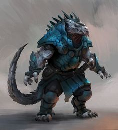 Dungeons And Dragons Characters, D&d Dungeons And Dragons, Fantasy Characters, Fantasy Creatures, Mythical Creatures, Fantasy Character Design, Character Art, Concept Art World, Fantasy Beasts