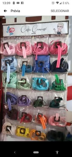 Shoe Rack, Organize Ribbon, Makeup Holder, Make Up Looks, Boxes, Craft, Ideas, Organizers, Atelier