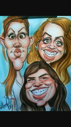 Caricatures by Tom Richmond