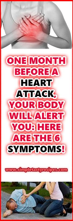 One month before a heart attack, your body will alert you: here One month before a heart attack, your body will alert you: here are the 6 symptoms!are the 6 symptoms! Health And Beauty, Health And Wellness, Health Care, Health Fitness, Face Health, Health Advice, Circulation Sanguine, One Month, Heart Health