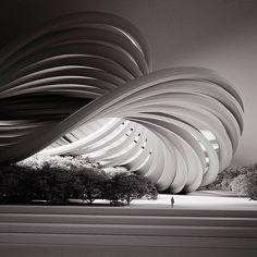 Parametric Architecture, Architecture Building Design, Parametric Design, Architecture Portfolio, Concept Architecture, Futuristic Architecture, Architecture Details, Arch Model, Architect Design