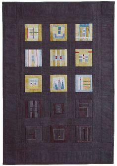 winter chaos: dijon, 17 x 24, 2006 Erin Wilson Quilts