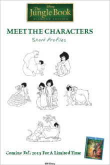 Meet The characters | Disney's Jungle Book Free Printables, Activities, Coloring pages and Downloads | SKGaleana