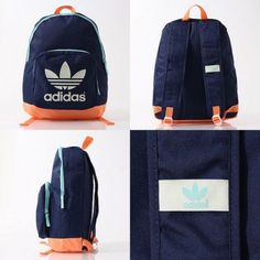 1d0cc36553 Adidas Originals Backpacks - Mens Boys Girls Adidas School BackBags  Rucksacks