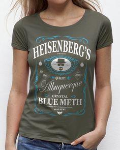 T-shirt Femme Breaking Bad / Heisenberg's | 18,90 € | XWTA32824K sur Goeland.fr