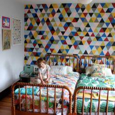 Fantastic wall via Design Sponge