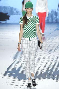 Lacoste ladies golf fashion