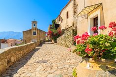 Corsica - The Island of Beauty - French Affaires Corsica, Peaceful Places, Beautiful Places, Cap Corse, Temple Ruins, Living In Europe, Hidden Beach, Beaux Villages, Place Of Worship