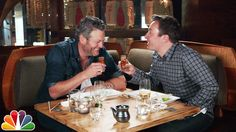 Blake has never tried sushi before, so Jimmy takes him to Nobu to broaden his horizons. Subscribe NOW to The Tonight Show Starring Jimmy Fallon: http://bit.l...