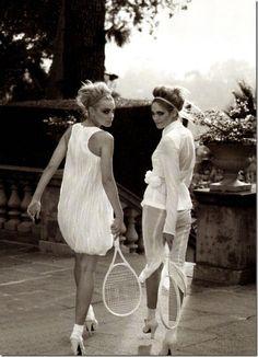Tennis in heels ... #wimbledonworthy