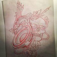 #skull #speaker #cable #music