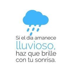 #FelizMiercoles ¡Buenos días, chic@s!¿Llueve en tu ciudad? Al mal tiempo… ¡buena cara! http://www.createastyle.com