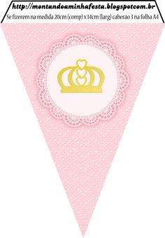 Princess Theme, Pink Princess, Party Printables, Free Printables, Apple Garland, Cupcake Cake Designs, Faux Snow, Palestinian Embroidery, Baby Shawer