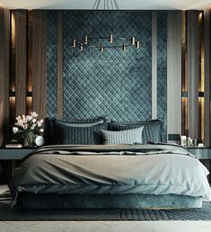 Enhance Your Senses With Luxury Home Decor Luxury Bedroom Design, Master Bedroom Interior, Bedroom Bed Design, Luxury Home Decor, Home Decor Bedroom, Bedroom Designs, Home Interior Design, Bedroom Ideas, Bedroom Makeovers