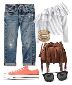 """summer casual outfit"" by cristinaanghel90 on Polyvore featuring Boohoo, Converse, Diane Von Furstenberg, Prada and Sole Society"