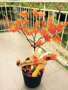 DIY Autumn Welcome