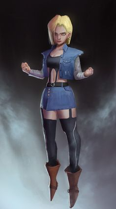 Android 18, Yuechi Lee