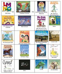 2nd Grade Library Lessons - nice couple things on this blog