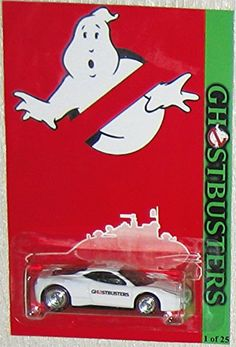 White FERRARI ITALIA Hot Wheels CUSTOM GHOSTBUSTERS Series with Real Rider Rubber Wheels Limited Edi @ niftywarehouse.com #NiftyWarehouse #Geek #Horror #Creepy #Scary #Movies