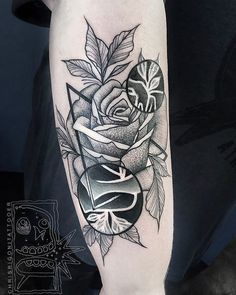 este_esplndido_dotwork_rose_tattoo