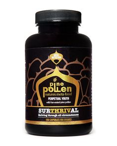 Surthrival Pine Pollen Capsules SURTHRIVAL Perpetual Youth Pine Pollen The gold standard in nutrient-dense meta-foods. Perpetual Youth Pine Pollen is the perfect foundation for elite nutrition. Harvested in the richest soil of Mongolia, this super-charge Health And Beauty, Health And Wellness, Mental Health, Pre Workout Shake, Anti Aging Supplements, Supplements Online, Increase Testosterone, Testosterone Booster, Perfect Foundation