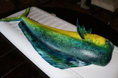 Dorado Fish Cake by SugarlumpCakery, via Flickr