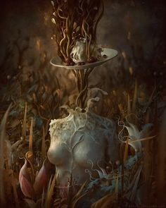 The Dark and Twisted Dreamscapes of Artist Marcela Bolívar - Joyenergizer