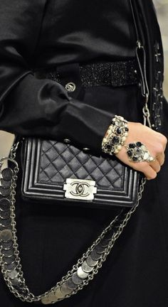 "You never get another purse once you have a Chanel..i beleive mine is 10 year's old..and i am loving this one..""oh oh oh Chanel""  Chanel"
