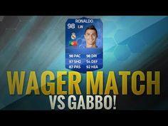 FIFA 14 UT OHAXEEL VS GABBODSQ | FIFA 14 UT TOTY CR7 WAGER MATCH