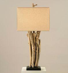 tischlampe design modern zweige