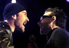 Pic Request. Bono and his piercing (sideshots). - Page 2 - U2 Feedback