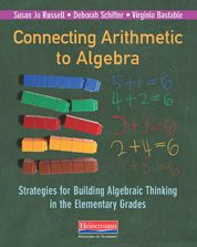 My go-to book for strategies for building algebraic thinking. Connecting Arithmetic to Algebra (Professional Book) #MathSummerReads