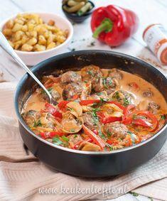 Healthy Low Carb Recipes, Healthy Crockpot Recipes, Cooking Recipes, Amish Recipes, Dutch Recipes, Tapas, Carpaccio, Good Food, Yummy Food