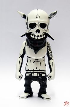 Rebel Ink figure customized by Jon-Paul Kaiser (Rebel Ink figure was designed by Usugrow)