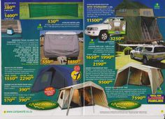 Tuinroete Woonwaens Campworld MB have just received the new Easter specials and WOW there are some great prices on a huge variety of items. The time to save has arrived, visit us today. Easter Specials, Caravans, Outdoor Gear, Tent, Outdoor Living, Easter 2014, Camping, Outdoors, Travel