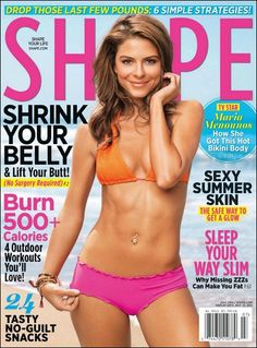 7257305a3787d Extra host and Dancing With the Stars sensation Maria Menounos turns up the  heat on the July cover of SHAPE magazine