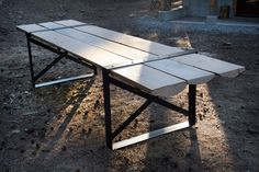 Large Outdoor Table  made by DOOTco
