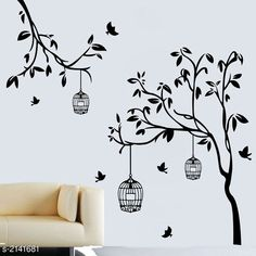 Checkout this latest Wall Stickers & Murals Product Name: *Elegant Vinyl Wall Sticker* Country of Origin: India Easy Returns Available In Case Of Any Issue   Catalog Rating: ★4 (775)  Catalog Name: Trendy Elegant Vinyl Wall Stickers Vol 12 CatalogID_284011 C127-SC1267 Code: 581-2141681-723