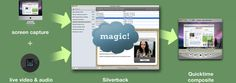 Silverback: Guerrilla usability testing software for designers and developers Screen capture + live audio & video — Silverback magic — Quicktime composite Ux User Experience, Usability Testing, Guerrilla, Software, Audio, Digital, Designers, Magic, Tools