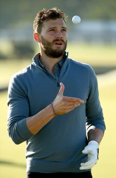 On a Scale of 1-18, How Hot Does Jamie Dornan Look on the Golf Course?