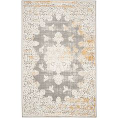 Found it at Wayfair - Auguste Gray/Ivory Area Rug
