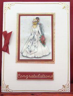 My first wedding card