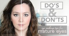 Eye Makeup Do's and Don'ts for Mature Eyes and Hooded Eyes! #BeautyTips #MatureEyes #DosAndDonts  http://www.thecreativeglow.com/2016/03/eye-makeup-dos-donts-for-mature-hooded-eyes.html