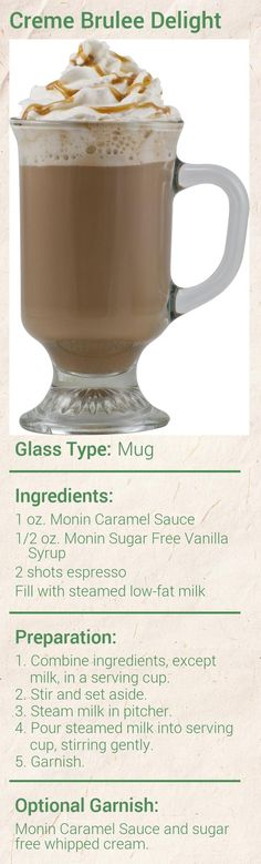 Create this delicious Pumpkin Cream Latte in minutes using Monin Gourmet Syrup. Add a splash of Monin to coffee, cocktails, teas, lemonades and more. Espresso Drinks, Coffee Drinks, Sugar Free Vanilla Syrup, Pumpkin Spice Syrup, Fruit Puree, Coffee Recipes, Drink Recipes, Latte Recipe, Frappe