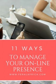 11 Ways to Manage Your On-line Presence - Being able to manage your online presence is a vital aspect of being a digital professional. Business School, Business Tips, Online Business, Business Marketing, Media Marketing, Small Business Consulting, School Jobs, Mba Degree, Best Blogs