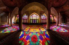 Τζαμί «Nasir al-Mulk», Σιράζ, Ιράν