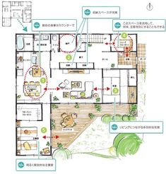 39 Ideas Small House Design Layout Floor Plans For 2020 Container House Design, Small House Design, Basement House Plans, House Floor Plans, Victorian House Interiors, Japanese Tea House, Craftsman Floor Plans, House Staircase, Home Exterior Makeover