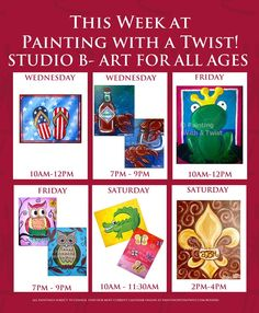 1000 images about ideas on pinterest twists paintings for Painting with a twist lewisville tx